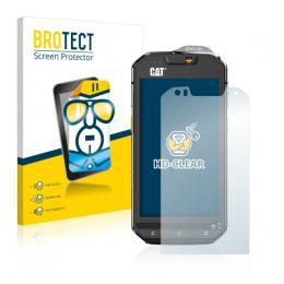 2x BROTECTHD-Clear Screen Protector Caterpillar Cat S60