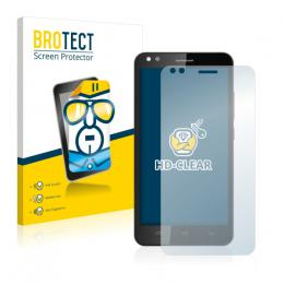2x BROTECTHD-Clear Screen Protector Prestigio Muze C3