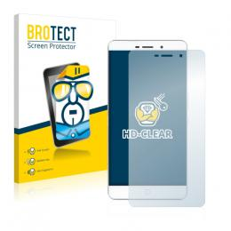2x BROTECTHD-Clear Screen Protector Elephone P9000 Lite