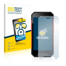 2x BROTECTHD-Clear Screen Protector Evolveo StrongPhone Q7