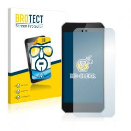 2x BROTECTHD-Clear Screen Protector Gigaset ME Pure