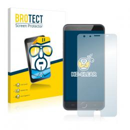 2x BROTECTHD-Clear Screen Protector Ulefone Be Touch 3