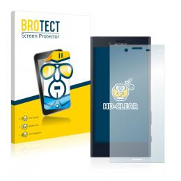 2x BROTECTHD-Clear Screen Protector Sony Xperia X Compact
