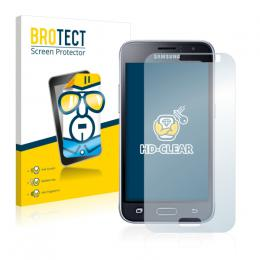 2x BROTECTHD-Clear Screen Protector Samsung Galaxy J1 (2016)