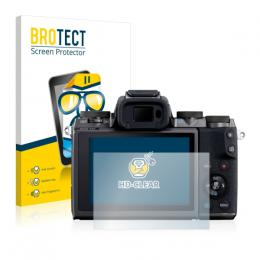 2x BROTECTHD-Clear Screen Protector Canon EOS M5