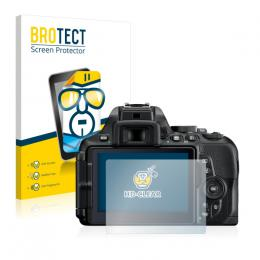 2x BROTECTHD-Clear Screen Protector Nikon D5600