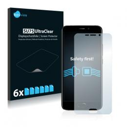 6x SU75 UltraClear Screen Protector UMi Plus E