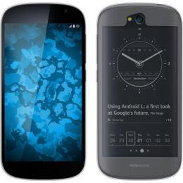 Pouzdro GEL pro YotaPhone 2 èiré