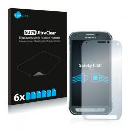 6x SU75 UltraClear Screen Protector Samsung Galaxy S5 Active