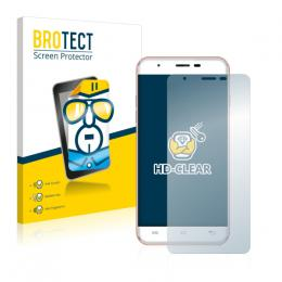 2x BROTECTHD-Clear Screen Protector Oukitel U7 Max