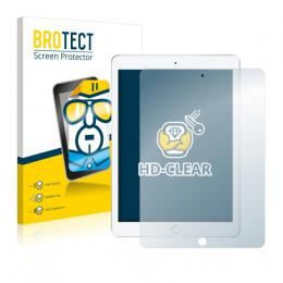 2x BROTECTHD-Clear Screen Protector Apple iPad 9.7 (2017)