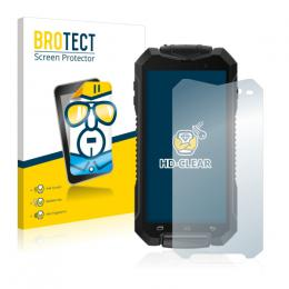 2x BROTECTHD-Clear Screen Protector Geotel A1