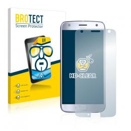 2x BROTECTHD-Clear Screen Protector Motorola Moto X4
