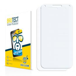 2x BROTECTHD-Clear Screen Protector Alcatel U5 3G