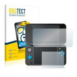 2x BROTECTHD-Clear Screen Protector New Nintendo 2DS XL