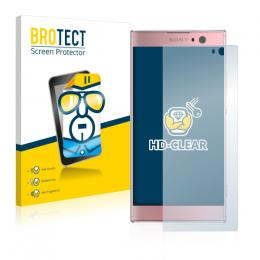 2x BROTECTHD-Clear Screen Protector Sony Xperia XA2