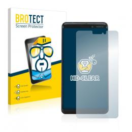 2x BROTECTHD-Clear Screen Protector Nokia 6.1 (2018)