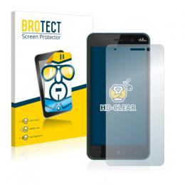 2x BROTECTHD-Clear Screen Protector Wiko Lenny 4