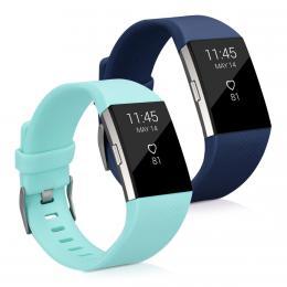 Náhradní øemínky pro Fitbit Charge 2 modré