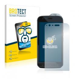 2x BROTECTHD-Clear Screen Protector Caterpillar Cat S61