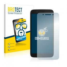 2x BROTECTHD-Clear Screen Protector Alcatel Idol 5