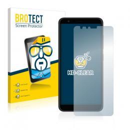 2x BROTECTHD-Clear Screen Protector Asus ZenFone Max Plus ZB570TL