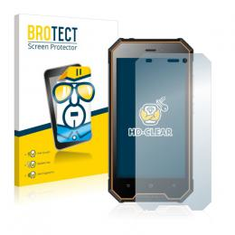 2x BROTECTHD-Clear Screen Protector Blackview BV4000 Pro