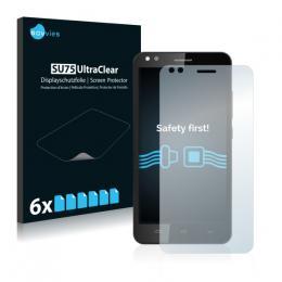 6x SU75 UltraClear Screen Protector Prestigio Muze C3