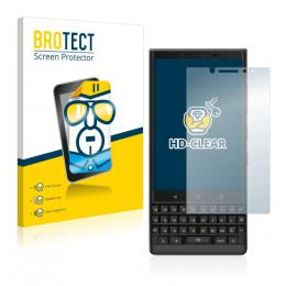 2x BROTECTHD-Clear Screen Protector BlackBerry Key2