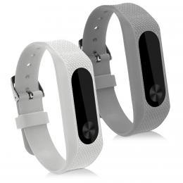 Náhradní øemínky pro Xiaomi Mi Band 2 bílý šedý