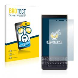2x BROTECTHD-Clear Screen Protector BlackBerry Key2 LE