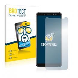 2x BROTECTHD-Clear Screen Protector Samsung Galaxy A8 (2018)