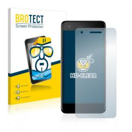 2x BROTECTHD-Clear Screen Protector Vodafone Smart V8