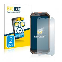 2x BROTECTHD-Clear Screen Protector Ulefone Armor 3