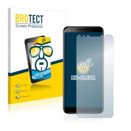 2x BROTECTHD-Clear Screen Protector Vodafone Smart N9