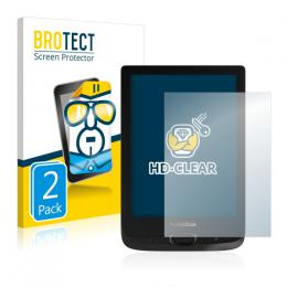 2x BROTECTHD-Clear Screen Protector PocketBook Basic Lux 2