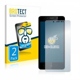 2x BROTECTHD-Clear Screen Protector Leagoo Power 2