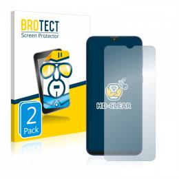 2x BROTECTHD-Clear Screen Protector Samsung Galaxy M20