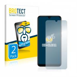 2x BROTECTHD-Clear Screen Protector Huawei P Smart (2019)