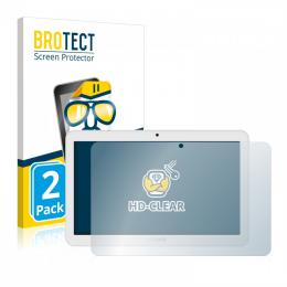 2x BROTECTHD-Clear Screen Protector Archos Access 101
