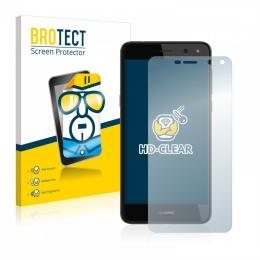 2x BROTECTHD-Clear Screen Protector Huawei Y6 (2017)
