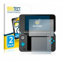 2x BROTECTHD-Clear Screen Protector Nintendo 2DS XL