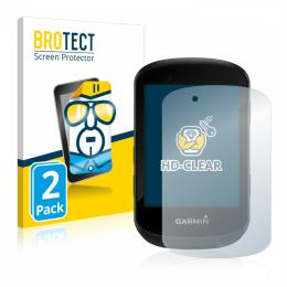 2x BROTECTHD-Clear Screen Protector Garmin Edge 530