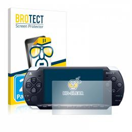 2x BROTECTHD-Clear Screen Protector Sony PSP 3004