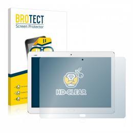2x BROTECTHD-Clear Screen Protector Huawei MediaPad M3 Lite 10.1