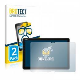 2x BROTECTHD-Clear Screen Protector Huawei MediaPad M5 Lite 10.1