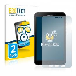 2x BROTECTHD-Clear Screen Protector Samsung Galaxy Tab Active 2