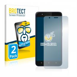2x BROTECTHD-Clear Screen Protector Gigaset GS270