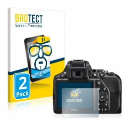 2x BROTECTHD-Clear Screen Protector Nikon D3500