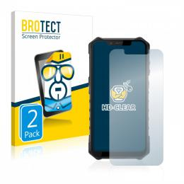 2x BROTECTHD-Clear Screen Protector Ulefone Armor 6